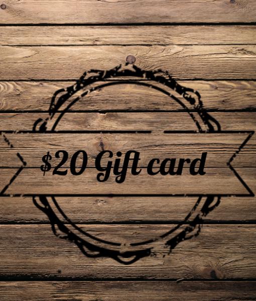Gift Card ($20)