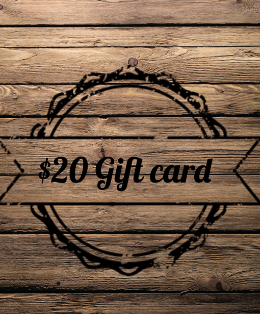 Gift Card ($20)